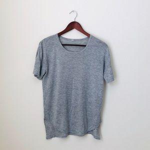Lululemon•Grey Knitted Shirt